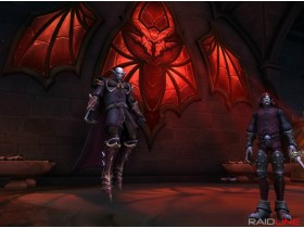 Слава рейдеру Нафрии, Замок Нафрия, Шадоулендс, World of Warcraft