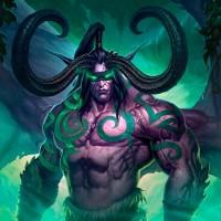 иллидан, илидан ярость бури, демон, вов, wow, world of warcraft
