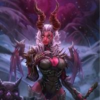 Жуткие видения, демон, эльфийка, ночная эльфийка, вов, wow, world of warcraft, ворлд оф фаркрафт, варкрафт, красивая эльфийка, сексуальная эльфийка