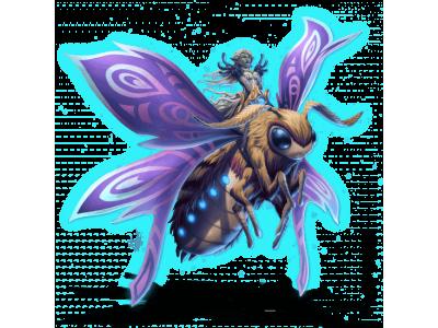 светлячок, бабочка, гоблин, маунт вов, летающий муравей