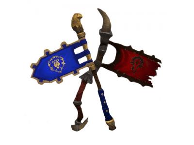 альянс против орды, флаг орды, флаг альянса, вов, брг, пвп, мир варкрафта