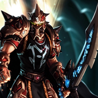 Эльф крови - воин - World of Warcraft